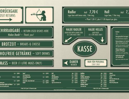 grafikkiosk (Kunde: Haberl Gastronomie)